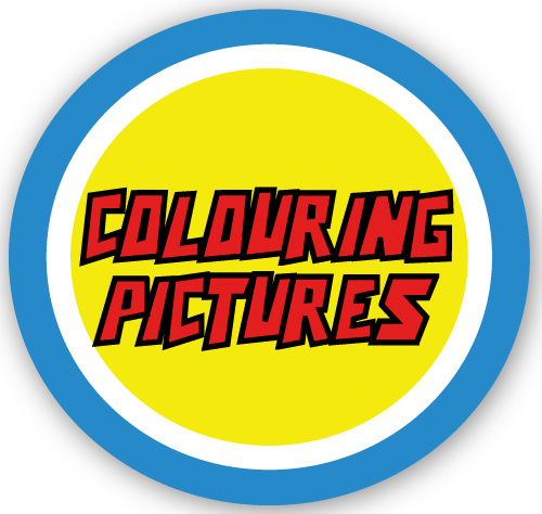Captain-Hear'O-Colouring-Pictures-Badge-with-Shadow