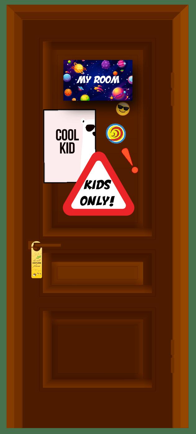 Captain Hear'O Kids Closed Door-01